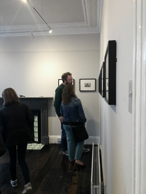 Preview event of 'Permian', a solo exhibition by Lauren Dawson at Haptik Gallery, 2018